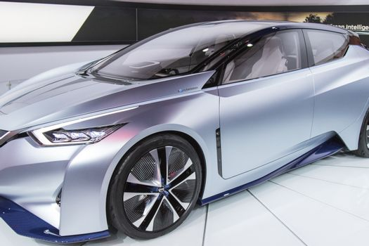 DETROIT - JANUARY 17 :The 2017 Nissan IDS concept at The North A