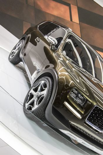 DETROIT - JANUARY 17 :The 2017 Kia Telluride concept at The Nort