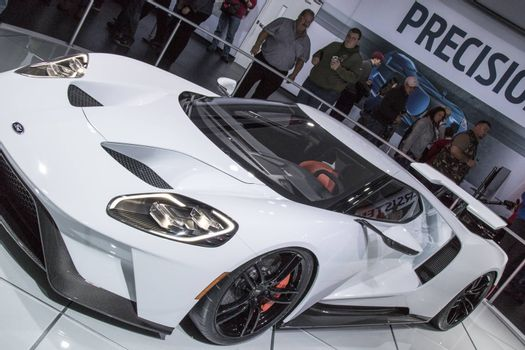 DETROIT - JANUARY 17 :The 2017 Ford GT500 at The North American