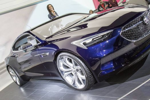 DETROIT - JANUARY 17 :The 2017 Buick vista concept at The North