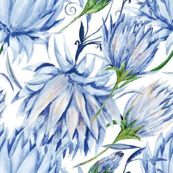 Indigo Floral Pattern