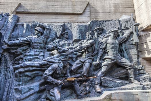 Soviet Soldiers Monument Kiev Ukraine