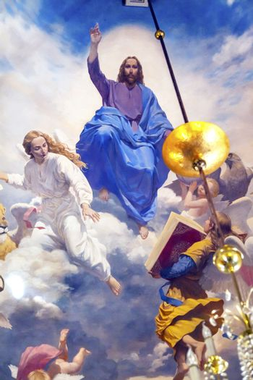 Jesus Ceiling Church Kiev Ukraine