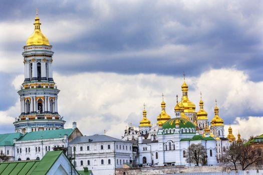Great Bell Tower Lavra Kiev Ukraine