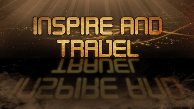 Gold quote - Inspire and travel