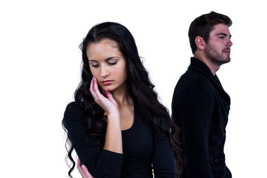 Couple after argument