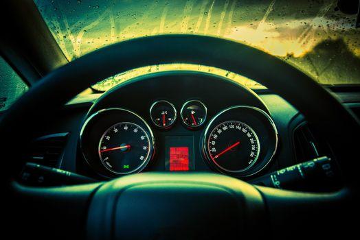 Car Dashboard Console