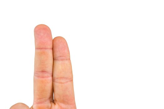 Cropped image of fingers