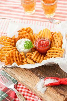 Fresh Waffle fries