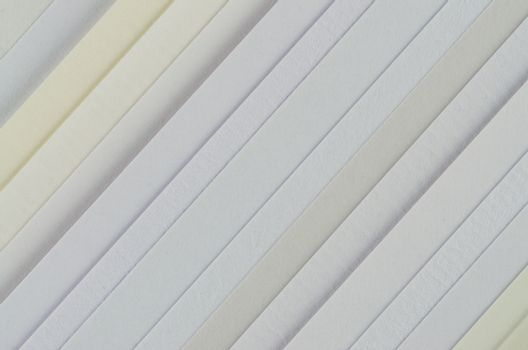 Paper samples with different textures