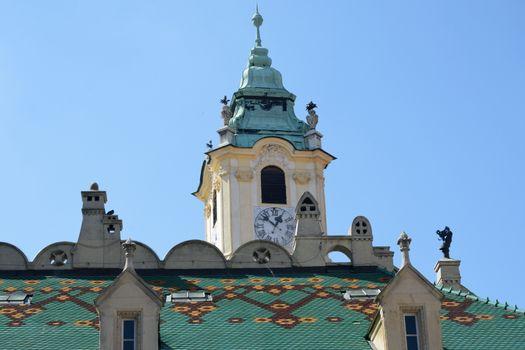 European style Town Hall Bratislava Slovakia