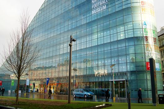 The National Football Museum.