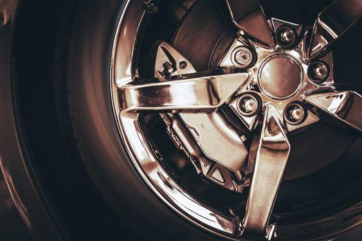 Chrome Car Wheel