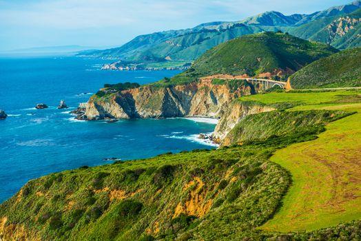 California Coastal Highway 1