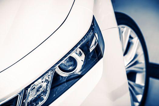 Modern Car Headlight