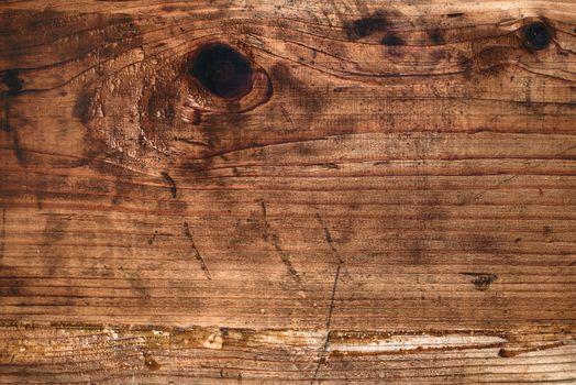 Retro toned rustic wooden board