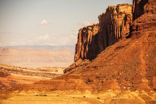 Reddish Utah Landscape