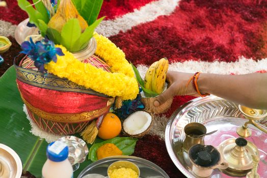 South Indian prayers heritage items