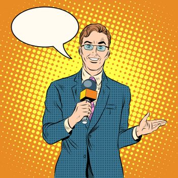 TV reporter male
