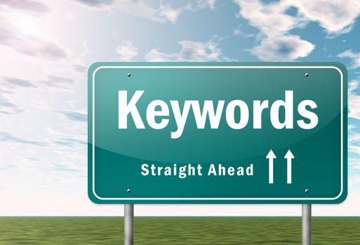 Highway Signpost Keywords