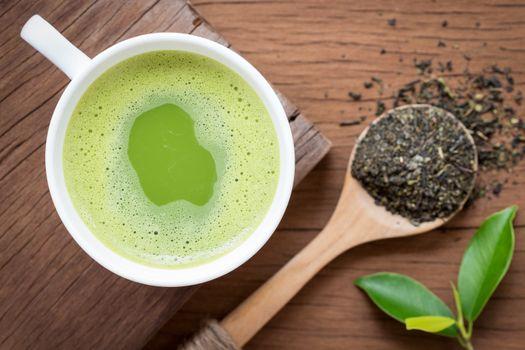green tea nutrition beverage for healthy