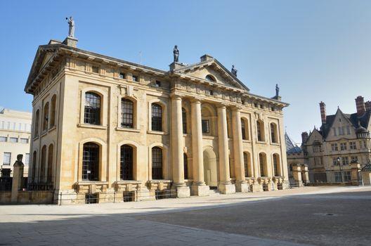 Claredon Building Oxford Uk