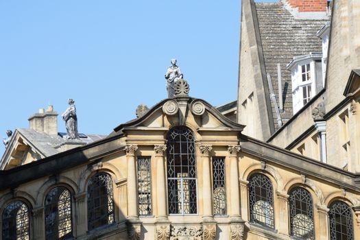 Top of Bridge of Sighs Oxford Uk