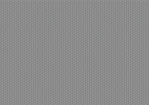 Gray Hexagonal Texture - Geometric Background Illustration, Vector