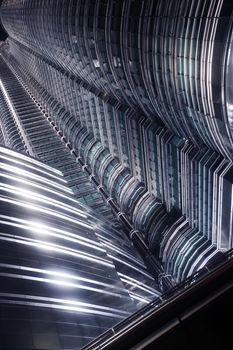 Futuristic skyscrapers