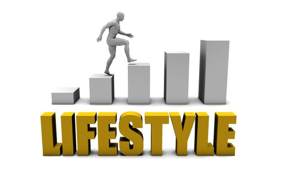 Improve Your Lifestyle  or Business Process as Concept