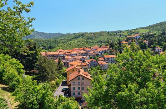 Liguria - Crocefieschi village