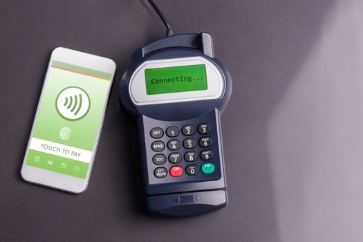 Web against paying with smartphone