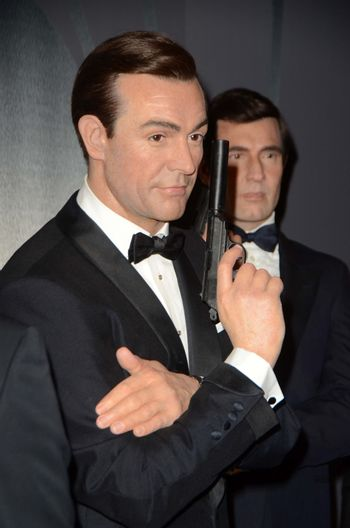 Atmosphere Madame Tussauds Hollywood Reveals All Six James Bonds In Wax. Madame Tussauds, Hollywood, CA 12-15-15/ImageCollect