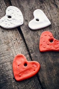 set of symbolic hearts