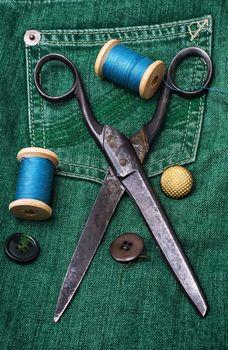 working dressmaker accessories
