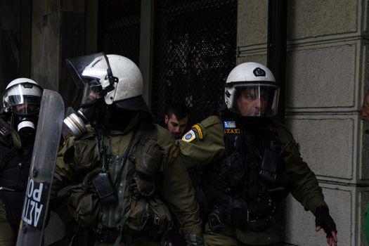 GREECE - ECONOMY - STRIKE - WELFARE