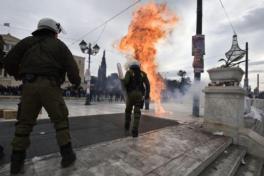 GREECE - ECONOMY - WELFARE - STRIKE