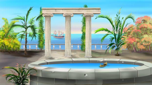 Ancient Greek Colonnade