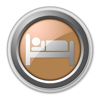 Icon, Button, Pictogram Hotel, Lodging
