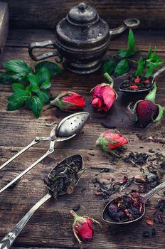fragrant tea brew