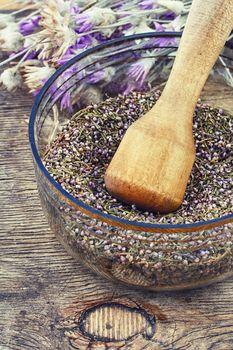 Dried medicinal plants