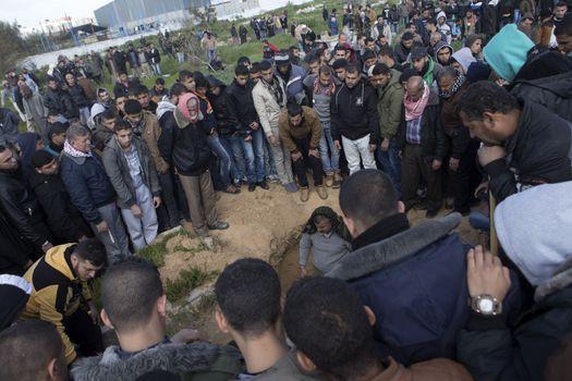 GAZA STRIP - TUNNEL COLLAPSE