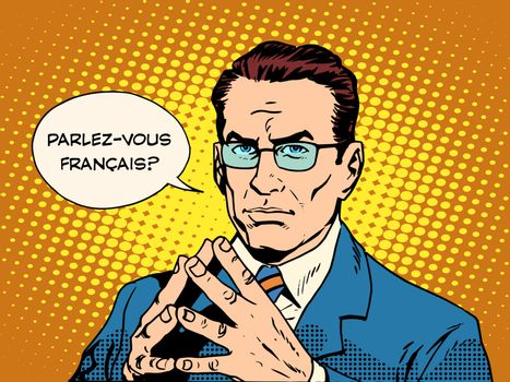 Do you speak French translator language course