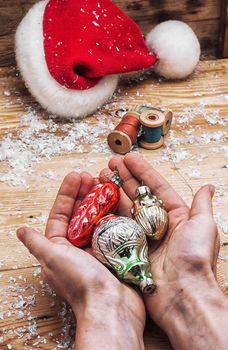 Christmas toys and holiday Christmas