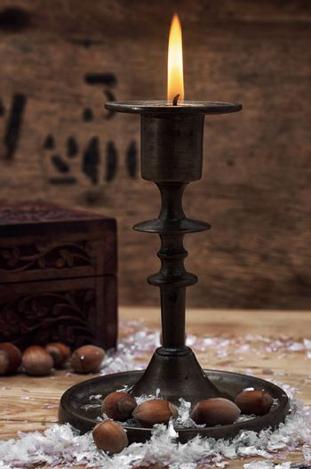 candle in the candlestick