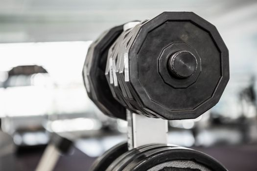 A close up of some weights