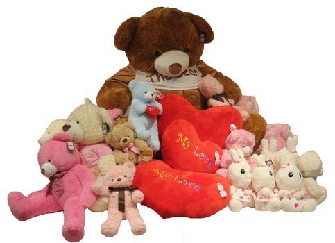 ManyBear Isolated - Valentine's Day