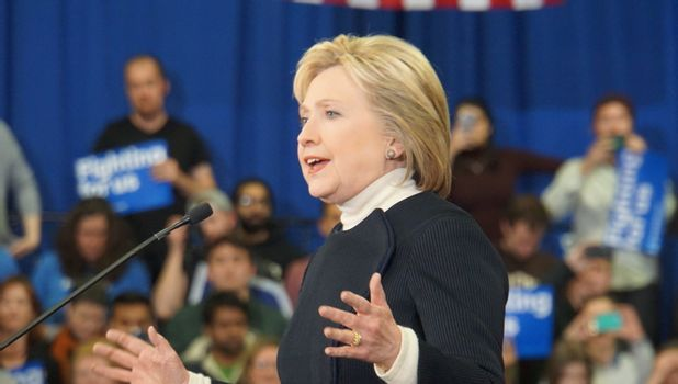 USA - ELECTIONS - HILLARY CLINTON