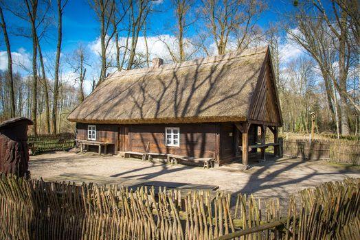 Slavic old house
