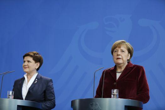 GERMANY - POLAND - DIPLOMACY-EUROPE